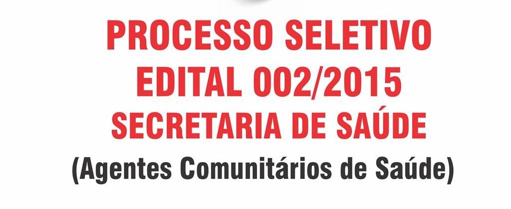 EDITAL 002-2015