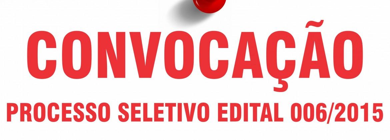Edital 006-15 contrato 007-15