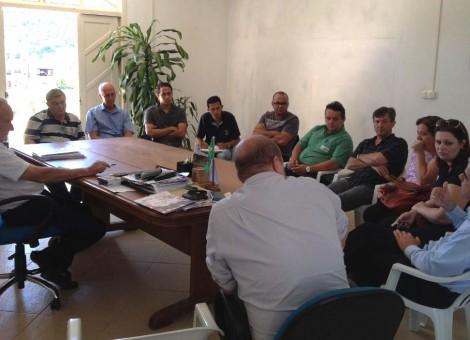 Reunião Igreja e Prefeitura