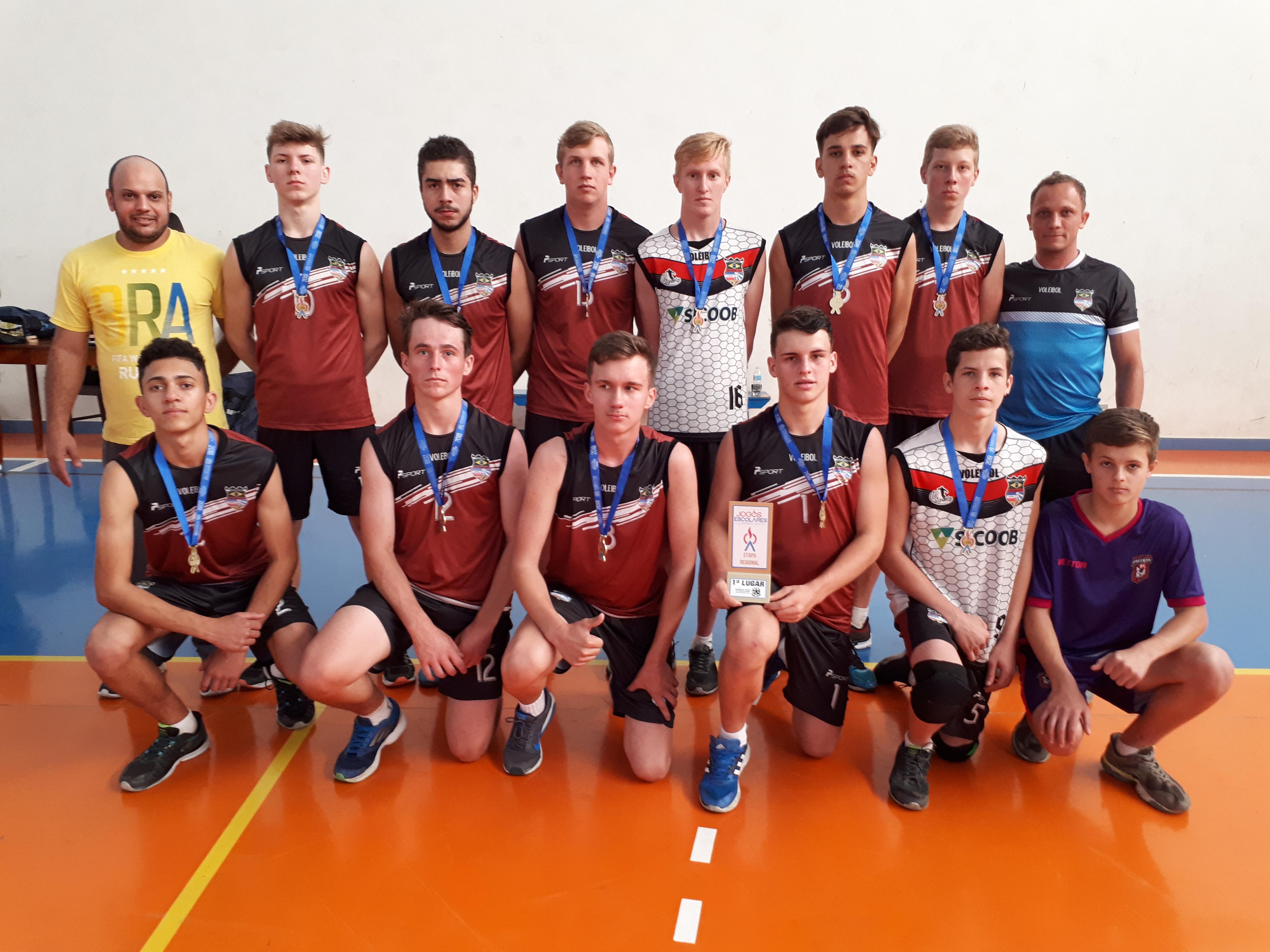 Voleibol Masculino Juvenil - EEEFM Frederico Boldt (1)