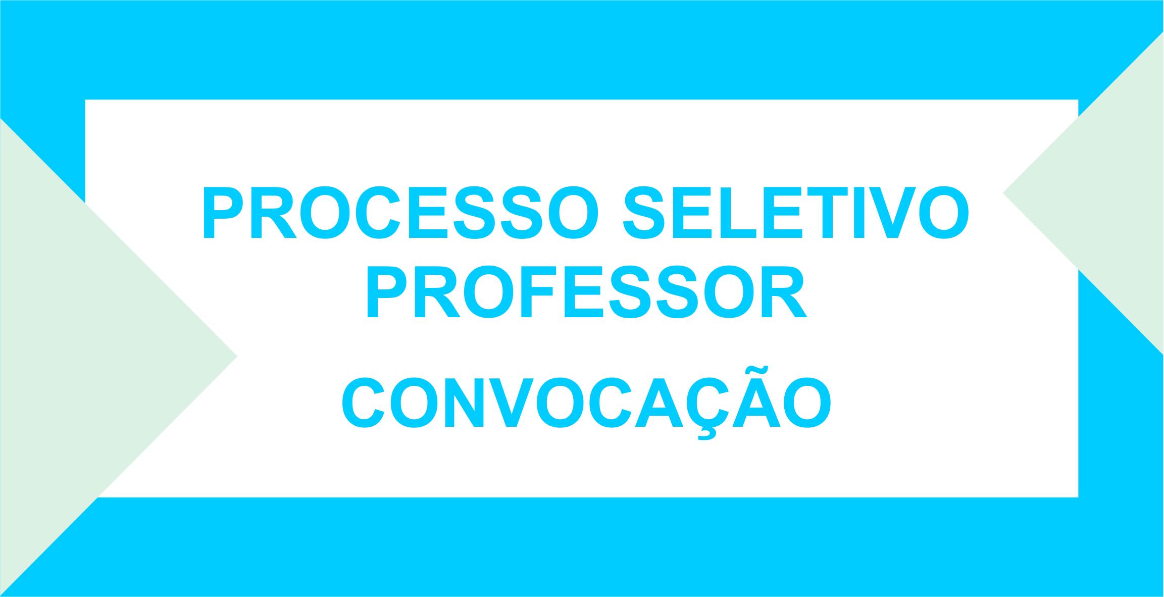 PROCESSO SELETIVO EDUCAÇÃO 005