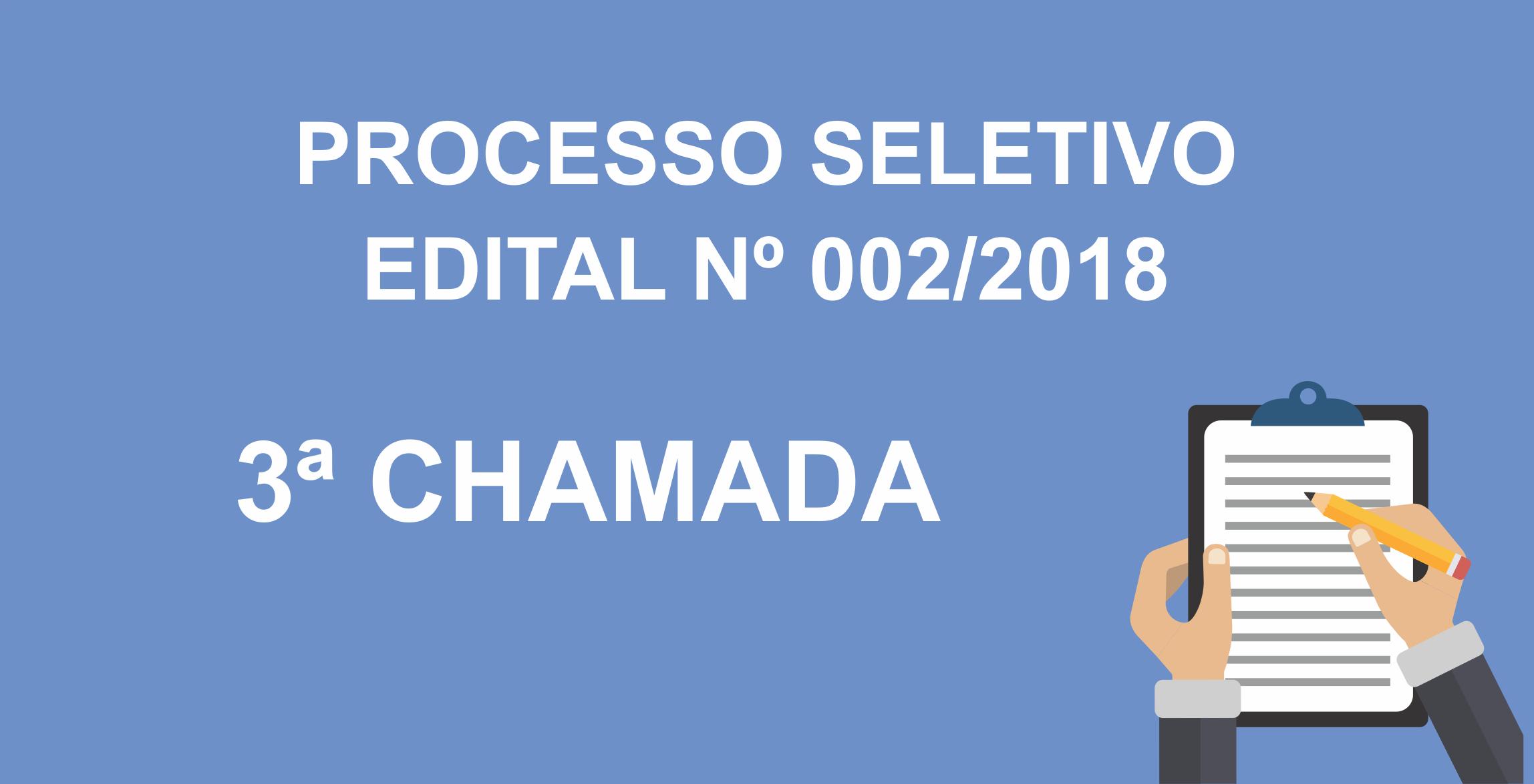 3 CHAMADA 002